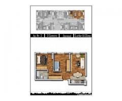 Militari Praktiker, Apartament 3 camere, 51 mp, decomandat
